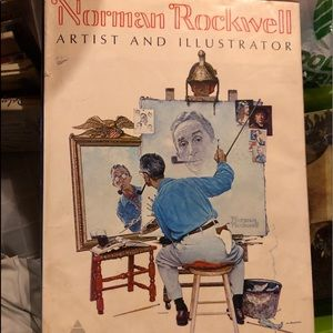 Norman Rockwell xl coffee table book
